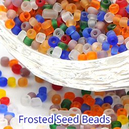 Frosted Seed Beads