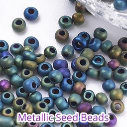 Metallic Seed Beads