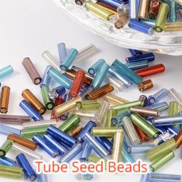 Tube Seed Beads