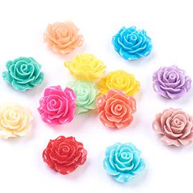 Flower Resin Cabochons