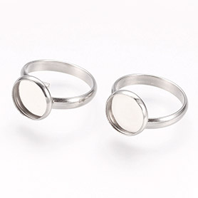 Stainless Steel Finger Rings Components