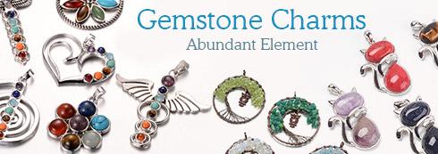 Gemstone Charms