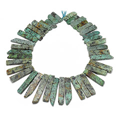 Natural African Turquoise Beads Strands