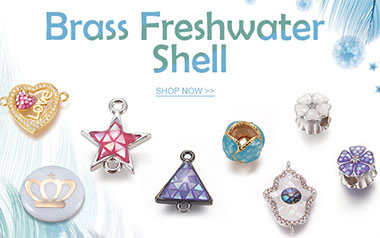 Brass Freshwater Shell
