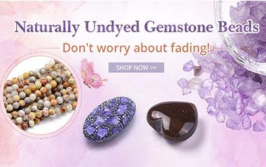 Naturally Undyed Gemstone