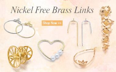 Nickel Free Brass Links