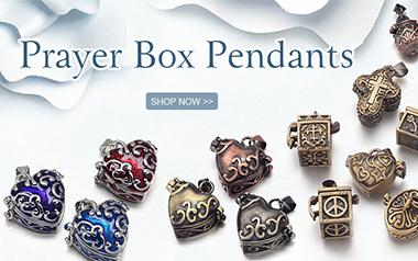 Prayer Box Pendants
