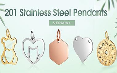 201 Stainless Steel Pendants