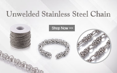 Unwelded Stainless Steel Chain