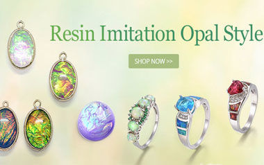 Resin Imitation Opal Style