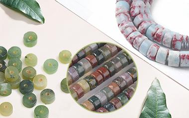 Heishi Stone Beads
