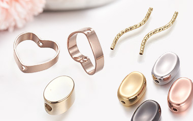 Rack Plating Brass Beads