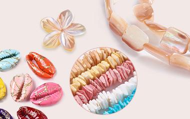 Natural Sea Shell  Bead