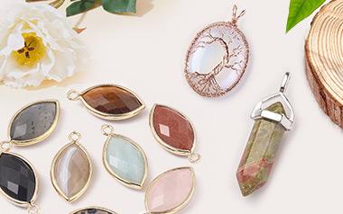 Mixed Stone Gemstone Pendants