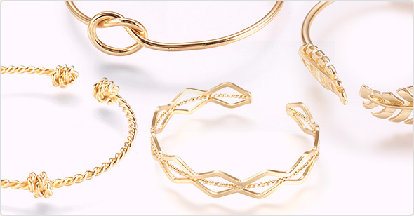 Real Gold Plated Bangles