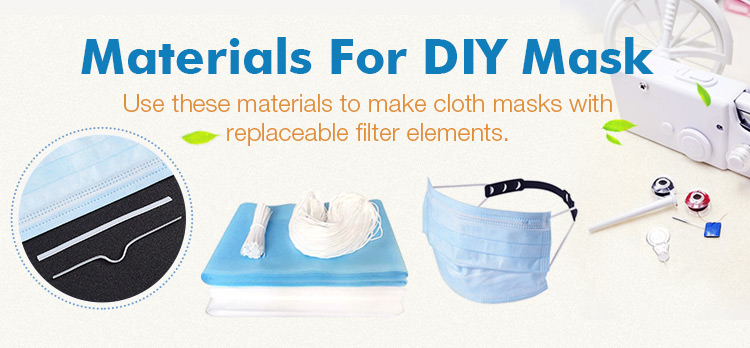 Materials For DIY Mask